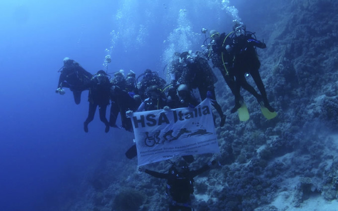 Diving Center Diversamente Abili Sharm partner HSA