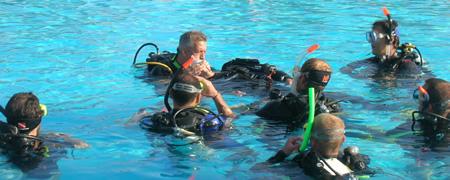 Professional scuba courses Sharm